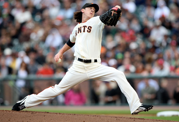 Tim Lincecum is not having the best season pitching for the Giants. However he did throw a no-hitter a couple of weeks ago against the San Diego Padres. The next start that followed he got hit hard. He has a 4.77 ERA in in 120 innings pitched while giving up 13 HRs and striking out 127 batters. The strike out number looks good, but having a WHIP of 1.37 does not. The opposition has a .253 batting average against him this season, with right-handers hitting .262. The opposing teams love to hit with runners in scoring position facing him, as they a .297 average in this situation.