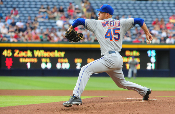Wheeler is the other part of two-headed monster for the Mets rotation. He is not as polished as Harvey, but scouts believe he has more upside than Harvey. The potential is there for him to be great, and it will be up to him to continue his development as a pitcher and make the needed adjustments. He has three wins on the season with a 3.54 ERA, and he has struck out 21 batters in 28 innings pitched. Wheeler has walked 16 batters, and that is why he has high WHIP of 1.42.