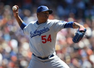 Right hander Belisario is slowly becoming effective once again for the Dodgers.  He's 4-6 with a 3.40 ERA in 57 games. Venezuelan right hander Ronald Belisario has stepped up and has become an effective right hander Mattingly needed. He has a 2.45 in his last 10 appearances while striking out 5. Belisario has pitched in 57 games this year while posting a record of 3.40 and 40 Ks in 57 games played.
