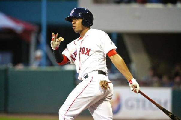 With Iglesias a Detroit Tiger, Xander Bogaerts may have an opportunity to prove his incredible talent at the Major League level sooner rather than later. It only took him 79 games to prove he was too good for AA, and just 45 games into his AAA career he's already tearing it up. He's hitting .285/.382/.485 with 8 HRs and 24 RBI.