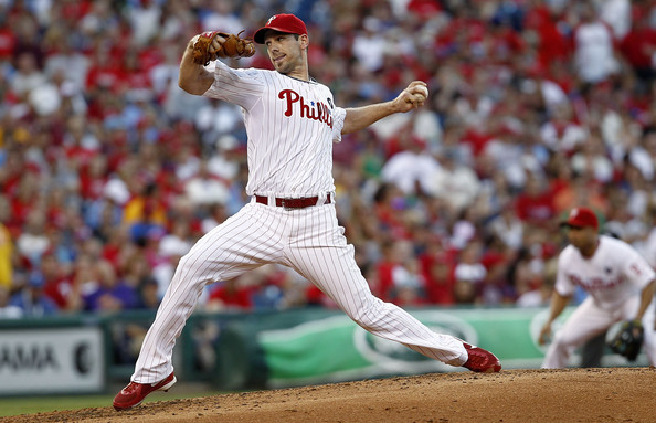 Cliff Lee is having another solid season in the rotation for the Phillies. If some team can pry him away from Philadelphia, their rotation improves dramatically. Lee has 10 games with a 3.13 ERA in 149.2 innings pitched to include him having a WHIP of 1.04. He has excellent command of the strike zone by walking just 24 batters and striking out 139 on the season. He is seventh in the NL with a WAR of 4.0 for pitchers. He also know how to pitch when the postseason starts, with him starting 11 career games to go along with a 2.52 ERA in those games. He is holding opposing batters to a .235 batting average, with left-handed batters hitting .253 against him this season. He is superb by limiting teams to a .236 average once runners are in scoring position.