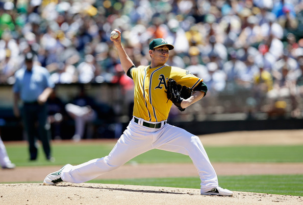 Jarrod Parker is one of the many young arms that the Athletics have in their starting rotation. He could be a potential ace for the team in the next couple of years. He has won  seven games for the club this season to go along with a 4.02 ERA and a WHIP of 1.23 in 132 innings pitched. The young right-hander has struck out 90 batters while walking 49. Parker is limiting opposing batters to a .235 average and is holding left-handers to a.247 average. He is very good at keeping teams off balance with runners in scoring position, as indicated by teams just having a .214 average in this situation.