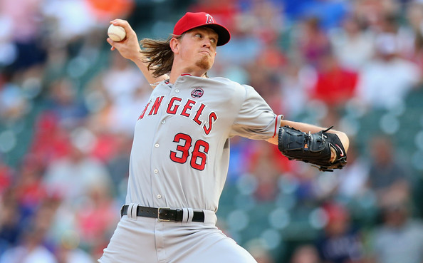 Jered Weaver is the ace of the staff for the Angels, but has had issues avoiding the disabled last year. When healthy, Weaver is one of the best pitchers in the AL. He was 11 - 8 last year for the Halos, while sporting a 3.277 ERA in 154.1 innings pitched.  In 2012, he fared much better putting up an AL Leading 20 wins against just 5 losses for an .800 Win PCTG.  Despite just a .579 mark in 2013, he took the reigns of Active Win PCTG once Ropy Halladay hung up his cleats for good.  Weaver is 113 - 60 (.6531%) for his 8 year career so far, with a 3.24 ERA.