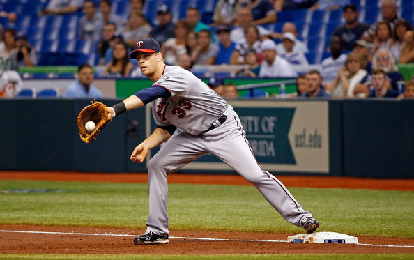 Justin Morneau has played with only team his entire career, and that would be with the Twins organization. He is a former MVP, with him earning the award in the 2006 season. The production he provided from that season are gone, but he is still a solid hitter. He has a .265/.321/.743 triple-slash in 419 at-bats with 13 HRs and 64 RBIs this season to include 27 Doubles. He has 177 Total Bases with 40 extra-base hits and 111 hits overall. He is first in the AL with a .998 Fielding Percentage at first base. He hits left-handed, but has more success against right-handed pitchers with a .282 average against them. He just just has a .225 average facing southpaws. Morneau is great with runners in scoring position, as indicated by .284 and 46 RBIs in 109 at-bats this season.
