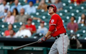 Mark Trumbo is one of the best young power hitters in baseball. he gives the Angels another power threat in their lineup. He only has a .237 average on the season, but has hit 27 HRs to include 73 RBIs in 451 at-bats. He struggles somewhat with a .233 average when runners are in scoring position, but has 47 RBIs in this situation.