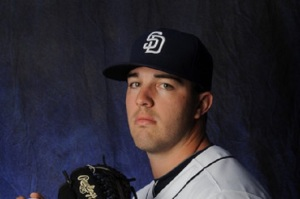 Matt Stites is a reliever that Arizona got in the deal as well. He could be a future closer for the team with his high strikeout rate. He has struck out 51 batters in 52 innings while pitching in the Texas League this season. He has a 2.08 ERA and a WHIP of 0.86. Stites is able generate plenty of velocity with his fastball sitting between 94-98 mph, and a curveball that sits in the high 80s with late biting action.