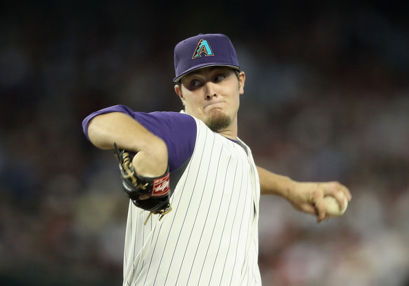 Wade Miley is another young left-hander that Arizona has in their rotation. He has been pitching better in the second half of the season for the club. Miley has won nine games for the team with a 3.60 ERA in 162.2 innings pitched. Miley has struck out 119 batters, while walking 54 and has a WHIP of 1.30. He is holding teams to a .258 batting average on the season with right-handers hitting .252 against him in 473 at-bats. The second half of the season, teams only have a .210 average in facing him. This is an improvement where teams had plenty of success in first half with a .276 batting average. Miley is holding teams to a .258 average with runners in scoring position.