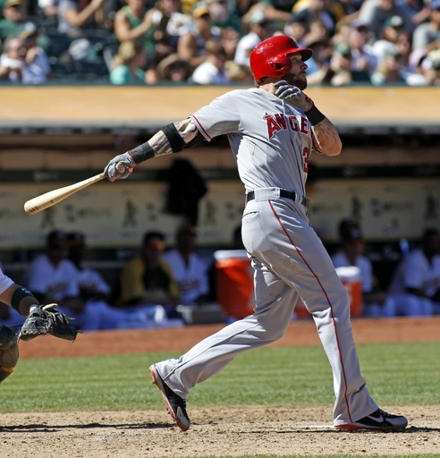 Josh Hamilton had his worst year as a Major Leaguer in 2013 with a 3 slash of .250/.307/.432 - with 21 HRs and 79 RBI last year.  This campaign looked to have been better, with the OF hitting .444/.545/.741 through 27 AB.  Injuries just seem to happen for the man.  He underwent thumb surgery two days ago after jamming his hand trying to slide into 1st base.  His loss will be felt big by Los Angeles, and they may not be in position to contend by the time he comes back.  The Angels are at home for 6 games before a killer 9 game road trip at Detroit, Washington and New York.