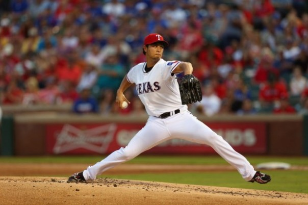 "Darvish has been an absolute stud for this Rangers pitching staff in 2013. He has changed the complexity of the ""strikeout pitcher"". He has struck out 14 or more batters 5 times this season. That has only been done three other times in major league history. If the Rangers were to win the division he would be a huge reason why."