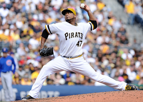 Francisco Liriano has been the pitcher in the rotation for the Pirates' this season. He now has the opportunity to send Pittsburgh back to NLDS. Liriano has been making hitters look foolish the whole season, by holding the opposition to a .224 average and left-handed batters can't touch him with them only managing a .131 average. He loves to pitch at home, where he has an 8-1 mark with an ERA of 1.47. The southpaw handles pressure well by limiting teams to a .233 average with runners in scoring position. He has faced Cincinnati four times this season and his holding them to a .197 batting average.