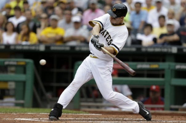 Justin Morneau is a great addition to the Pittsburgh Pirates. The team is hoping that he can propel  them to a division title along with the other new faces to their squad. Morneau is having a very productive with him hitting .259 to include 17 HRs and and 74 RBIs. He is not the guy who was the AL MVP in 2006 that hit 34 HRs while driving in 130 RBIs and had an average of .321. He can still provide a team with solid at-bats in a game and is a good guy to have in the clubhouse. The left-hander can hit righties as good as southpaws. He has a .286 average facing right-handers and hist .282 against left-handed pitchers. He still knows how to handle the bat with runners in scoring position, as indicated by him having 54 RBIs in this situation.
