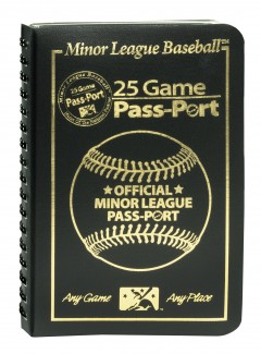 For those that love cruising to Minor League Parks, you can receive a 25 Game Passport for $17.95 (or purchase 6 in bulk for $68.95)