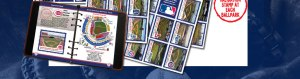 all 30 of the MLB Parks have stickers, whether you want to also stamp yourslef in, or have a team official do it for you, this is a great way to have the proper validation that you were indeed at the park.