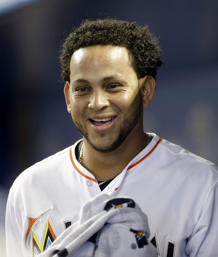 Henderson Alvarez finished on a strong note, having thrown a no - hitter in his last start.  It was only one of 2 no - hitters in the MLB during the 2013 year.  As part of the Miami and Toronto 7 man deal in 2012, Alvarez looks to improve on a mediocre 2013.  (AP Photo/Alan Diaz)