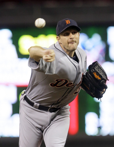 """Yes Max Scherzer wrapped up the AL Cy Young with a most impressive season in 2013, but the club will be hard pressed to lock up his services beyond the 2014 campaign - when you factor the team wants to re-sign Cabrera in 2016, and also the club is already spending upwards of $45 MIL per year on Justin Verlander and Anibal Sanchez as part of the Starting Pitching Staff.  The team just put out a press release saying 'The club gave a substantial offer, that would have made the RHP, one of the highest paid pitchers in baseball, and he doth refused it."""""""