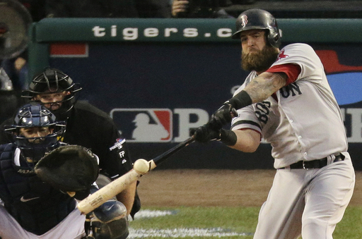 Boston better snap out of their post season celebrations long enough to tend to their own Free Agents.  The longer they wait to sign Mike Napoli. Jarrod Saltalamacchia, Stephen Drew and Jacoby Ellsbury, the longer the odds will be for the club to resign them.  Ellsbury is likely gone, and Drew could also be replaced with Bogaerts/Middlebrooks, however their Catcher and First Base scenario's need to be addressed