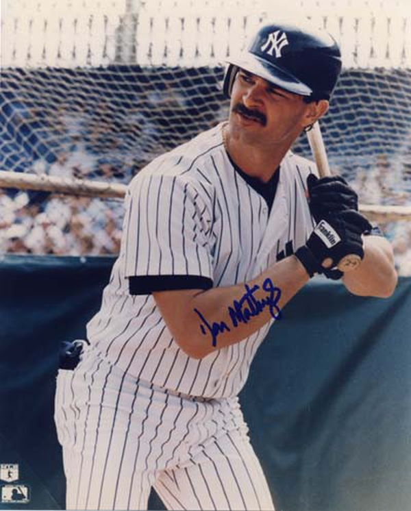 Don Mattingly won 3 straight AL Sporting News Player of The Years - and was the best ALL-Around player in the game from 1984-1986 leading 13 Offensive Categories for the 3 years. His 145 RBI in 1985 was the most for a LHB since Stan Musial in 1949. He hit .340 with 656 Hits, 145 2B, 88 HRs, 368 RBI and only SO 112 times in 2131 PA's. He also led the league in Doubles from 1984-1986. Mattingly's 388 Total bases in 1986 had been the most in the Majors since Willie Mays back in the 1962 season. Mattingly won the first of 9 gold gloves in 1985. Donnie Baseball also won the AL MVP in 1985 and was boldly robbed in 1986 by the writers voting for Roger Clemens. In 1987, Mattingly hit 6 grand slams and also homered in 8 straight games(including 10 total which was higher than Dale Long and Ken Griffey's 8 during their consecutive streaks.) His average year for the 4 year stretch was .337, with 30 HRs, 45 2B and 120 RBI. He also averaged 110 runs and 210 hits. Mattingly only struck out 37 times a year for this span. He was clearly the best ball player in this era. Clearly he could help Josh Hamilton straighten out.  What better guy to lead offensive superstars?