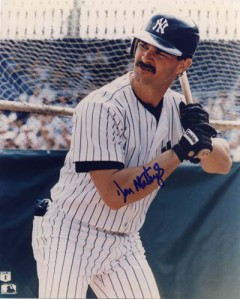 Donnie Baseball holds the record for most HRs hit in a 8 game HR streak stretch ever - with big flies in July of 1987.  The Yankees 1B also would establish a record for 6 grandslams in one year that campaign, (since tied by Travis Hafner in 2006.  Mattingly knocked in 23 RBI with those 10 HRs.