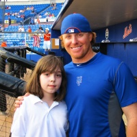 MLB Reports' Junior Reporter Haley Smilow Interviews The Mets 2B Justin Turner