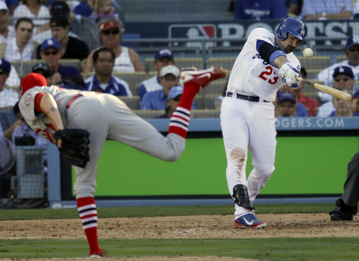 On a team that has desperately be in need of offense - due to early season woes from Yasiel Puig, Matt Kemp, Andre Ethier and Hanley Ramirez, A - Gon has delivered the goods.  Yesterday, he hit a HR for the 3rd straight game, and today he has a chance to match the 4 HR streak he already put up earlier in the Month.  The Dodgers 1B is showing signs of his early career power prowess.  He is currently 3 Slashing .309/.362/.639 - with 8 HRs and 22 RBI in his 1st 18 Games Played.  LA has managed to stick in the NL West race, with a 14 -11 clip thus far, I can't imagine where they would be with such a hot start from Gonzalez.