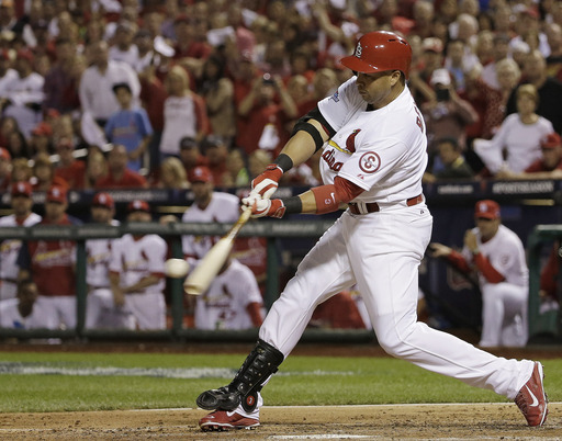 After Beltran went 2 - 4 with an RBI in Game #2 - he has improved his career Post Season Slash Line to .339/.448/1.163 - with 16 HRs and 38 RBI for his 168 AB.  Beltran is in the last year of his 2 YR/$26 MIL deal with St. Louis.  He will be a Free Agent after this Series, win or lose.