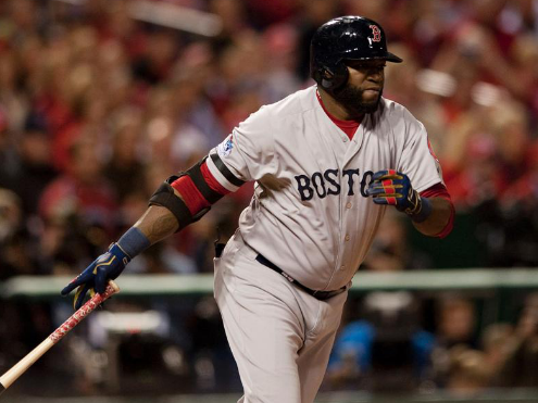 David Ortiz is having himself a field day in the 2013 World Series.  He is 11 - 15 (.733/.750/2.017) with 2 HRs and 6 RBI.  Can you imagine his numbers if Beltran didn't rob him of the Grandslam in Game #1?  Try .800/.813/2.346 with 3 HRs and 10 RBI.  He has been epic!  -----  L.G. Patterson/MLB.COM