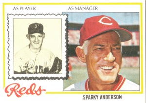 1978 Topps #401 Anderson MG