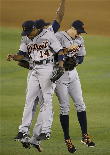 For the most part, the Detroit Tigers outfield will likely look very similar to what it did last year, with Don Kelley possibly getting some time in Left or Right Field if Hunter or Dirks need some time off. All 4 guys are very solid defensively, but guys like Dirks and Kelley may need to hit a little better if they want to make it further than they did a season ago.
