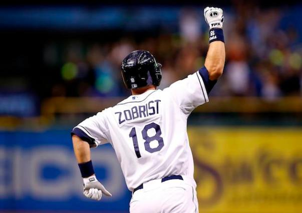 Ben Zobrist arriving as an everyday player pretty much coincides when the team began to take off in the AL East - and they have not looked back.  Since the start of the 2008 year. the Yankees are the only team that have more wins than the Rays in the MLB (561 Wins - 549 Wins).  Zobrist, Longoria have carried the offense and defense in that time span, while David Price has done it from the Pitching side of it,