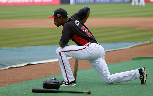 It would be one thing if B.J. Upton were the only player on the Braves who had an abysmal season.  When you add the injuries and the season of Dan Uggla to Upton worst year of his career, it is actually amazing this team ended with 96 Wins.  With the club losing Brian McCann, Paul Maholm and Tim Hudson, they will need Upton and CO. to rebound for the team to contend again in 2014.  Upton has to get back to 20/20 years for powers and steals, and at least hit to 85% of his career 3 slash - to justify the contract doled out by the Atlanta Braves.  Uggla must correct his vision problems and get back to raking again.  These 2 guys are the #2 and #3 paid guys on the squad in 2014 behind Justin Upton.