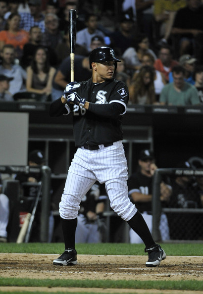 Avisail Garcia looks to be a perennial All-Star for the White Sox. He replaces he often reliable Alex Rios in RF for the White Sox after Rios was traded to the Texas Rangers during the 2013 season. Garcia was once a prospect in the Tigers organization, and was acquired by the White Sox in the Jake Peavy trade.