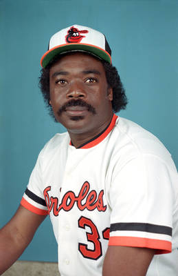 Eddie Murray is second among active switch hitters ALL - Time in HRs to Mickey Mantle with 504 HRs.  This former Rookie of The Year Award Winner in 1977, 7 time ALL - Star, 3 time Silver Slugger and Glove Award Winner, also featured 6 top AL MVP finishes.  In a time where 3B weren't known for hitting that much, he was a masher.  Murra