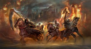 Four Horsemen of the Apocalypse by Matchack