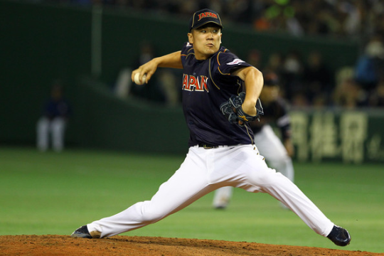 Mashahiro Tanaka was 24 - 0, with a 1.27 ERA in with his team in the NPBL last year.  He has followed countrymen Yu Darvish, Hiroki Kuroda and of course the 1st man from Japan, Hideo Nomo as superstars to take their talents to North America.