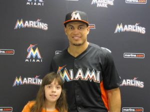 Haley smilow and giancarlo stanton