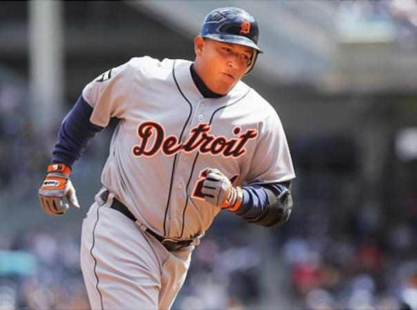 The 2012 and 2013 AL MVP finally is putting it all together.  Miguel Cabrera has helped bash Detroit to an 8 game wining streak, and has finally hit HRs in back to back games. After hitting for a decent average for a few weeks, the 31 Year Old 1B has been racking up RBI, and is adding power back to his repertoire. Miggy now has 25 RBI in 29 Games Played despite just cranking 4 HRs.   But this writer feels a hot streak coming from the RHB.  Cabrera is coming off back to back 44 HR campaigns.
