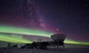 Lindsey Bleem/South Pole Telescope blog
