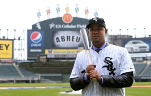 Jose Abreu signed the most lucrative contract for an international signee in MLB history - at 6 YRs/$68 MIL, before Tanaka eclipsed his deal . He'll more than likely start the 2014 season with the big club, rather than starting in the minors.  He'll spend most of his time at first base, with (more than likely) some occasional starts at DH.