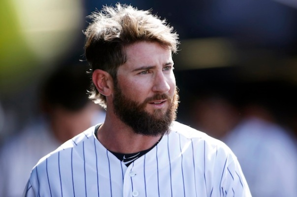 Charlie Blackmon continued his assault on NL Pitching yesterday with a pair of HRs.  They represented the second straight game he has clubbed a Tater - Trot, and for that he found himself on our Multi HR board and consecutive leader for 2 games right now.  The 27 Year Old OF has fashioned a 3 Slash in 2014 of .411/.450/.671 - with 4 HRs and 13 RBI.  He leads the NL in: BA, Hits (30), TB (39) - and slugging.  Blackmon has played at least 4 games in every position beyond the grass this campaign, and is making the fans not miss Dexter Fowler.
