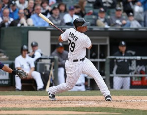 Jose Abreu vaulted himself onto the American League power scene, but it may be hard to break the sophomore jinx.  If the team is more competitive, he will also draw a lot more Intentional Walks this season.