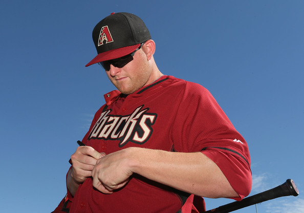 Mark Trumbo has homered in 4 straight games, which is halfway to the ALL - Time Record held by Don Mattingly, Ken Griffey JR and Dale Long.  Mattingly owns the aggregate total of 10 HRs hit for those 8 games.  Despite his efforts, the D'Backs enter today's game at 2 - 7.  Trumbo also leads the MLB with 5 HRs overall.