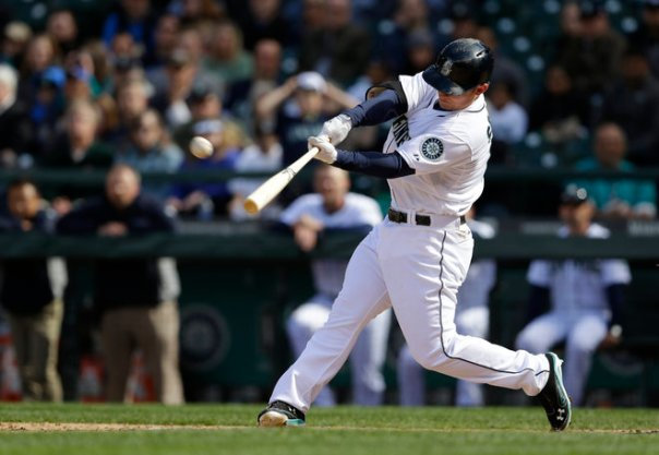 Heading into play last Thursday night, fantasy players and everyone surrounding the Mariners was wondering what had happened to 3B Kyle Seager.  He has nailed 5 HRs in his last 4 games, and is now hitting for a .798 OPS - with 13 RBI in 79 AB on the young season.  The last 2 years, Seager has hit 20 and 22 HRs respectively - and been the only player on the squad to have decent RBI totals.