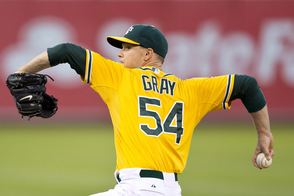 Sonny Gray's importance to this A's pitching rotation is even more relevant with Griffin and Parker out.  So far in 3 outings, he has a 0.93 ERA in 19 IP.  This carries his career numbers to a 7 - 2 record and a 2.28 ERA in 13 Game Starts.  This 24 Year Old from Nashville TN, is making good on his 18th overall selection in the 2011 MLB Amateur Draft,