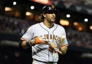 Mike Morse is the kind of guy Miami should be targeting for 2015.  He can play 1B and OF, and club 20 HRs and add 80 RBI - with a decent average.