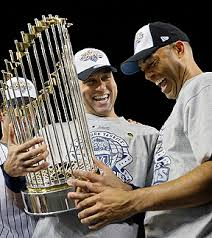 Derek Jeter is a 5 time World Series Winner, but also appeared in 7 Fall Classics, and 10 ALCS during his 18 full years.  The Yankees have not had a losing season since the Captain has arrived, and only missed the playoffs in 2008 and 2013 - 2014, although Jeter only partook in 17 Games during last campaign.