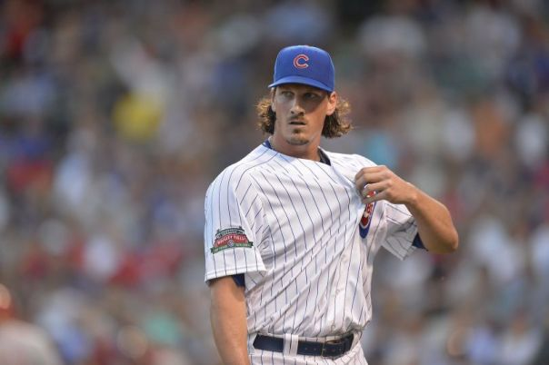 Samardzija is a 29 Year Old converted Quarterback, who has shown a penchant for pitching well this season, and a great portion of last season.  Samardzija is having a great year, compiling a 2.83 ERA on 16 Game Starts, which is light years ahead of his 3.97 career ERA.  His arm is not one that should have problems, with just throwing a baseball in recent years, and not torquing it for years upon years.