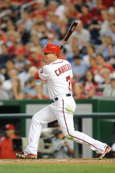 Asdrubal Cabrera was acquired for the services of Zach Wallters, who in turn was brought to Washington, when the club flipped Jason Marquis their way to Phoenix.  Marquis had signed a 2 YRs/$15MIL deal prior to the 2012 campaign. and the asset may die with Asdrubal Cabrera after this year. however I like having the Infielder right now - instead of the RHP - who is out of the game recovering from injury.  Cabrera, 28, has taken over 2B duties from Danny Espinosa, while ALL - Star Anthony Rendon is at 3B.