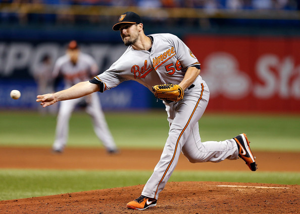 Darren O'Day has been filthy dominant out of the Bullpen this year.  He has posted a 0.95 ERA and 0.882 WHIP in his 54 Appearances - spanning 56.2 frames worth of work this year in late inning duty.  The club has made many right decisions in constructing the Bullpen, including walking away from Jim Johnson and Grant Balfour, while making key claim waivers, and implementing the right former starters into the late inning relief such as: Britton, Hunter and Matusz.  The best part about this facet of the squad is they have not broken the budget, as none of them make a lot of money.