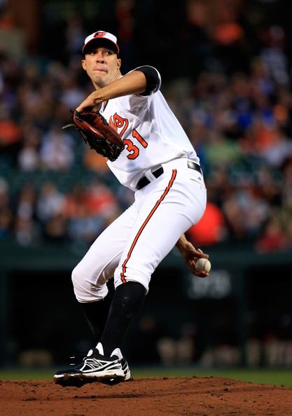 Due to the struggles of Ubaldo Jimenez, the Baltimore Orioles have decided to move him to the  bullpen, There has been no official decision about whether or not Jimenez will rejoin the rotation at any point this season, but you have to wonder if the Orioles are really okay with keeping him in the bullpen, especially after they gave him a  hefty contract during the offseason. In his two starts since returning from the disabled list, Jimenez hasn't showed Buck Showalter any reason to keep him in the rotation. His 66 walks are second in all of baseball behind A.J Burnett of the Phillies, and the lack of command has taken him out of games much earlier than the Orioles would like. In 12 starts since May 18th has left the Orioles looking for that ace to lead them into the postseason. Looking at the numbers, Buck Showalter has the right idea in taking Jimenez out of the rotation.