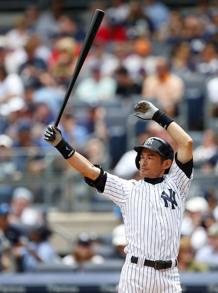 Ichiro Suzuki fashioned 10 straight 200 hit campaigns to start his career, tying Pete Rose for the most 200 Hit season ALL-Time, and setting the most consecutive years with the feat. He may only be a .270 - .280 hitter now as a 4th OF, but he still plays decent defense, and makes nice contact.  Suzuki is about a full year of AB away from setting the professional hits record.  He is a Free Agent after this year. and at 40, he may have a few years left to offer a club.